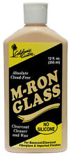 CALIFORNIA CUSTOM - M-RON GLASS, CLEARCOAT CLEANER & WAX, CLOUD FREE