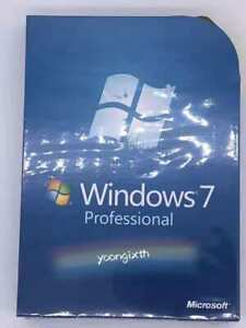 Microsoft Windows 7 Pro 32+64 Bit with DVD Full Version Sealed Not OEM
