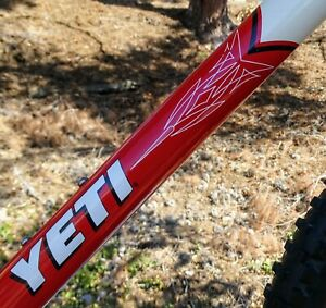 """1997 Yeti Fro  F.R.O.For """"Racing Only"""" Alloy Loop Tail F.R.O showroom MINT USA"""