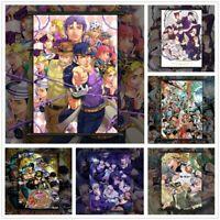 JoJo's Bizarre Adventure Anime Poster Scroll Home Decoration