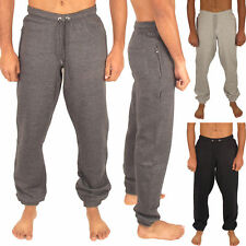 MENS JOGGING BOTTOMS JOGGERS  SLIM FIT TRACKSUIT FLEECE PANTS GYM SWEATS S - 2XL