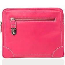 Marc Jacobs women's Venetia leather ipad sleeve case bag Fuchsia (RRP: $795)