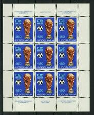 Yugoslavia 1974 ☀ Soccer World Cup in Germany ☀ MNH