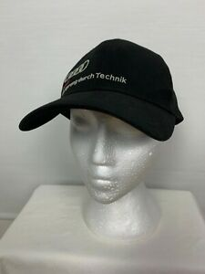 Audi Automotive Mens Motor Racing Stretch Fit Cap Hat One Size Fits All