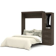 """Nebula by Bestar 90"""" Queen Wall bed kit in Antigua"""