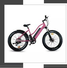 "Our Fab Step Down  Fat Tyre Electric bike For Women 26"" 500w/36V 10ah Battery"