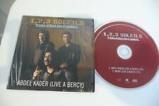 1,2,3 SOLEILS  TAHA KHALED FAUDEL CD POCHETTE CARTONNEE ABDEL KADER (LIVE BERCY)