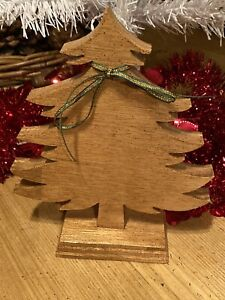 Wooden christmas ornaments