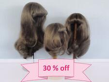 "30% OFF - DOLL WIG 9.45"" (24 cm). Long hair - 100% Human Hair - Georgette BRAVOT"
