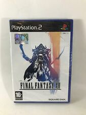 FINAL FANTASY XII Playstation 2 PS2 PAL Nuovo FACTORY SEALED SIGILLATO RPG