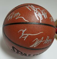 2007-08 Golden State Warriors Team Signed Basketball w/13 Signatures Don Nelson