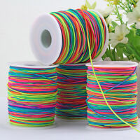 100M Elastic Band Cord Beading Thread Handicraft Jewelry Wire Rope String DIY