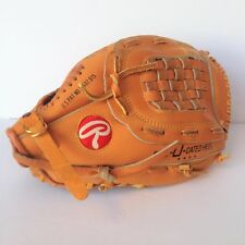 "Rawlings Ozzie Smith 12"" Baseball Glove Mitt Leather Palm Right Hand Thrower"