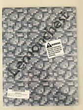 "Minecraft Cobblestone Wrapping Paper 3 Sheets 24"" x 36"" JINX Gray Gift Kids"