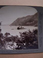Stereoscope Card House Holme Islet & Birk Fell Lake District