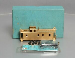 Balboa HO BRASS Southern Pacific C-30 Wood Caboose EX/Box