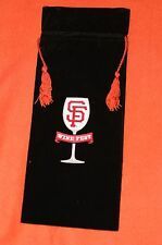 Bag Balancing Wine Fest Bottle Holder San Francisco SF Giants SGA NIB 8/29/14