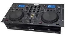 Gemini CDM-4000 Professionnel DJ double lecteur CD USB MP3 Pont Workstation CDJ