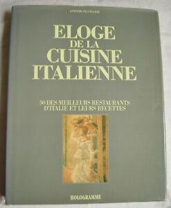 Eloge de la cuisine Italienne 30 des meilleurs restaurants d'Italie Piccinardi