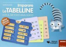 Imparare le Tabelline con il Metodo Analogico. Con Gadget di Camillo Bortolato (2013, Copertina Flessibile)