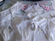 6 Thongs Size XL white, Princess tam tam , Jolidon Freya Speidel (X) NEW