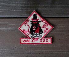 VIETNAM WAR PATCH-USMC VMFA 232 RED DEVILS Marine Fighter Attack Squadron PATCH