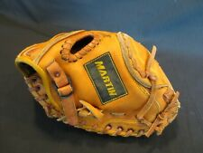 Martin BGC33 Leather Catchers Mitt RHT Youth Model  EUC Free Ship