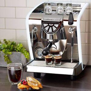 Nuova Simonelli MUSICA LUX LED 1 Gruppe neu italienische Espressomaschine 220V