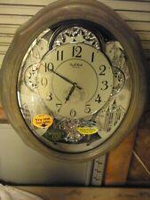 rhythm clock 4mh404ur08 american gala grey oak