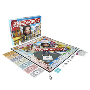 Ms. Monopoly Board Game Hasbro E8424 Family Game NEW!! FREE SHIPPING
