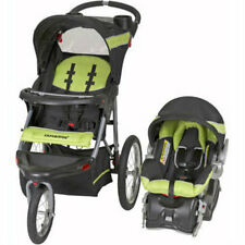 Baby Trend Expedition Jogger Travel System Electric Lime 3in1 Stroller Car Seat
