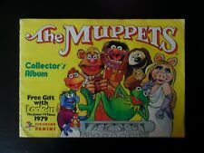 THE MUPPETS TV SERIES PANINI STICKER ALBUM 1979