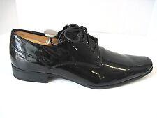 CALVIN KLEIN 'Brodie' Black Patent Leather Men Oxfords Shoes Size 13M