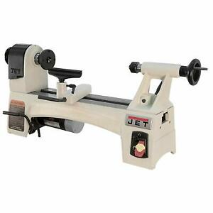 Jet 10 Inch by 15 Inch Variable Spindle Speed Woodworking Mini Lathe (Used)