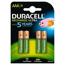 Duracell Rechargable Akku 850 mAh AAA LR03 MN2400 Micro 1,5V