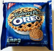 NEW Nabisco Oreo Blueberry Pie Limited Edition Cookies FREE WORLDWIDE SHIPPING