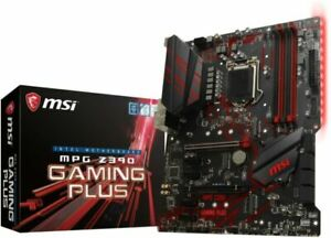 MSI MPG Z390 GAMING PLUS 1151 DDR4 ATX Motherboard @8/9th Generation ONLY@