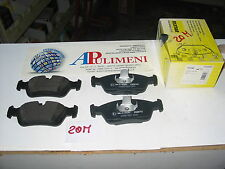 SERIE 23287 PASTICCHE FRENO(BRAKE-PADS) ANT BMW Z3 Z4 E36 E46  ROVER 75 TEXTAR