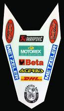 KTM EXC 125 2010  -crystal adesivi/adhesives/stickers/decal