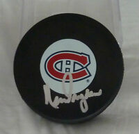 KEN DRYDEN SIGNED MONTREAL CANADIENS PUCK - VERY HARD TO GET SIGNATURE!