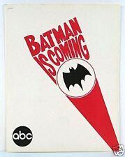RARE Batman ABC TV PRESS Release Packet Nov 1965 NM 13 Pgs w Photos & Info