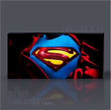 SUPERMAN AWESOME GIANT CLASSIC SUPERHERO ICONIC CANVAS POP ART by Art Williams
