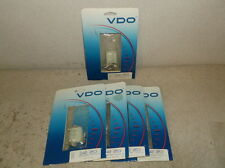 Five VDO 240-053 6 Pole Connectors for VDO Speedometers and Tachometers-$119 NEW