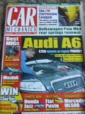 CAR MECHANICS MAGAZINE OCT 2013 BET MIGS AUDI A6 CORROSION LEAGUE MERC FIAT PUNT