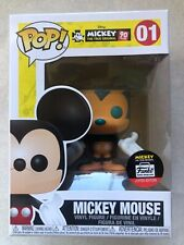 Funko Pop- Mickey Mouse - Orange & Green - Funko Limited Edition!  #01