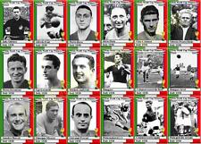 Italy 1938 World Cup winners football trading cards