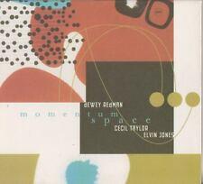 DEWEY REDMAN CECIL TAYLOR ELVIN JONES    CD MOMENTUM SPACE