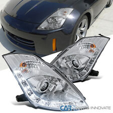"06-09 Nissan Fairlady 350Z Z33 Led Clara ""Hid tipo"" Projector Headlights"