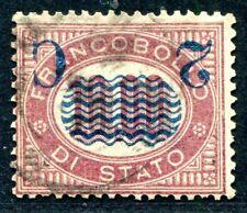 ITALIEN 1878 36K gestempelt KOPFSTEHER TADELLOS (S1292