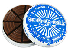 SCHO-KA-KOLA Schokakola Vollmilch/ MILK -Energy Chocolate -1 can-FREE SHIPPING